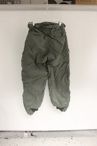 US Military Extreme Cold Weather Trousers, 8415-00-384-3609, Size: 32, OD Green