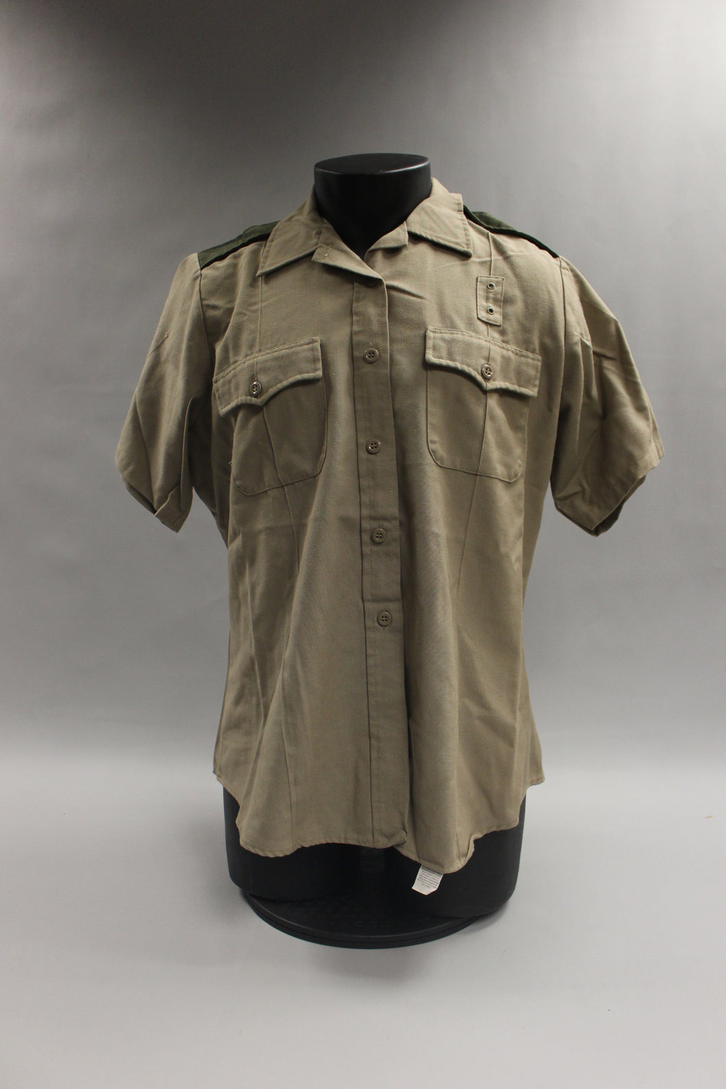 Flying Cross All Weather De Luxe Tropical Tan Work Shirt SS Size 44