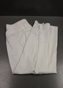 US Navy Women's White Belted Class 3 Trousers, 13R