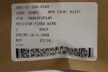 Load image into Gallery viewer, Inductive Wire Wound Fixed Resistor / Fuse Resistor, 5905-01-100-6543, New