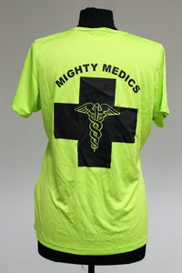 341st Medical Group, Malmstrom AFB, MT Mighty Medics T-Shirt, Large