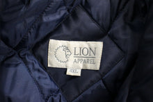 Load image into Gallery viewer, Lion Apparel Cold Weather Coat, Size: 4XL, Blue