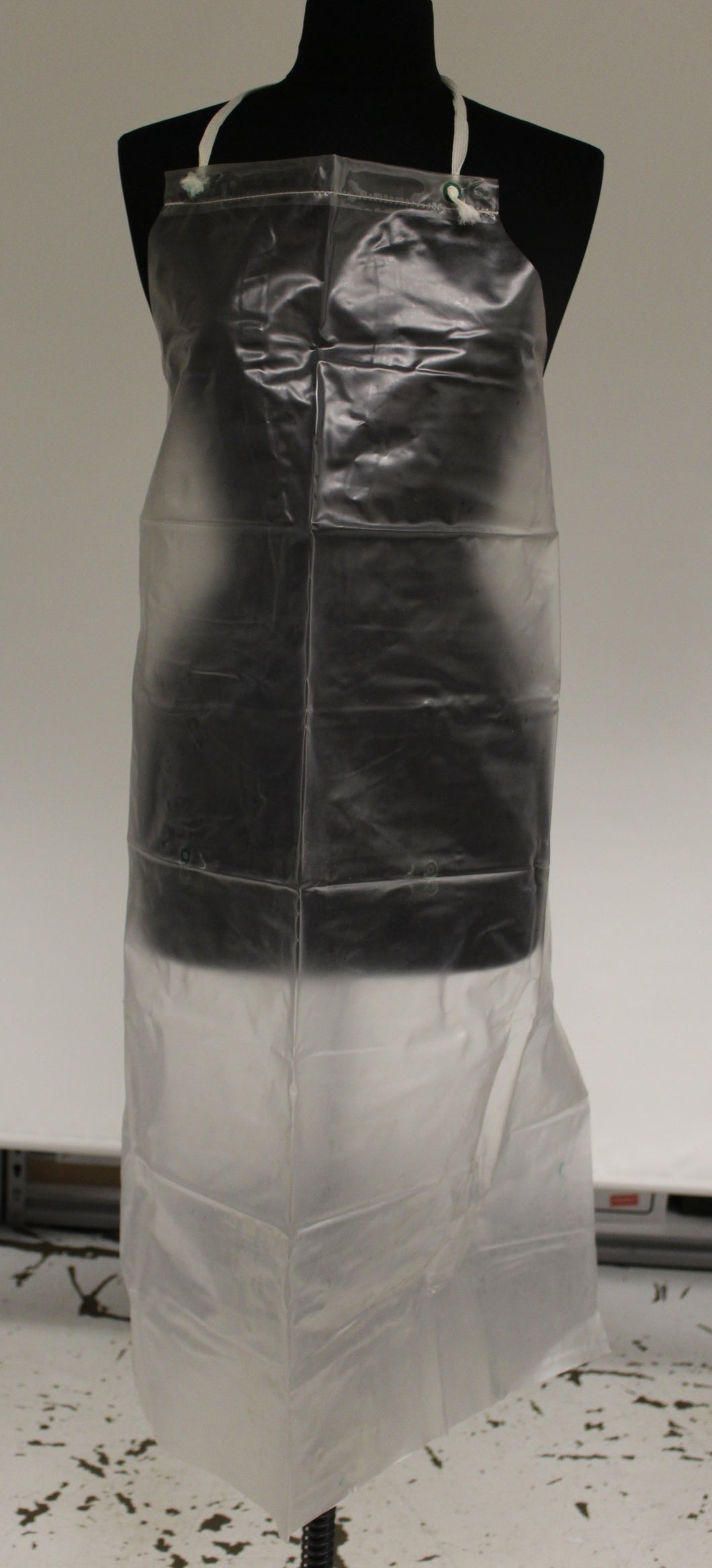 Kitchen Safe Food Handler's Apron, Vinyl / Plastic, 34
