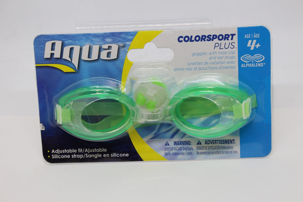 Aqua Colorsport Plus, AQG1296, Ages 4+, 27014GLTS