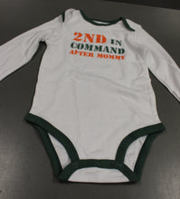 Load image into Gallery viewer, Carter's 2nd In Command After Mommy Onsie Bodysuit, 18 Months, New