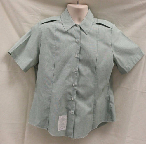 US Army Women's Short Sleeve Tuck In Dress Shirts, AG 415