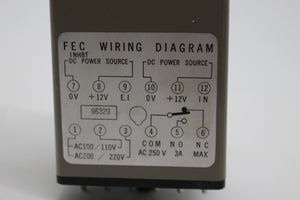 Yamatake-Honeywell Micro Switch, FEC-AD2-M