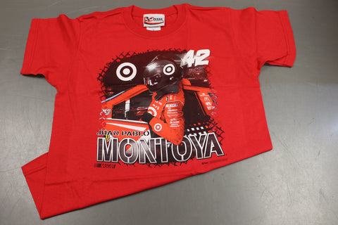 Juan Pablo Montoya Nascar Youth T-Shirt, Size: Youth Large
