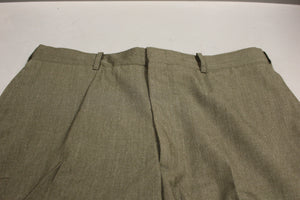 US Marine Corps Men's Dress Green Pants / Trousers, Hemmed, Size: 35R, Used