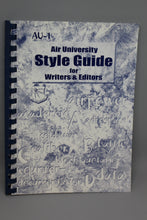 "Load image into Gallery viewer, ""Air University Style Guide for Writers and Editors"""