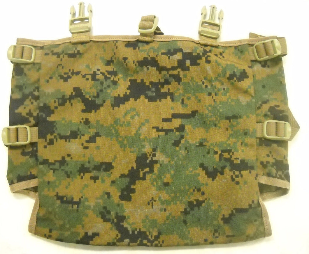 NEW! USMC MARPAT Gen 2 Radio Pouch Utility Pouch for ILBE Main Pack, Tan