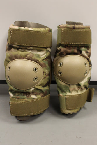 US Military B.P.E. Multicam Elbow Pads, Medium