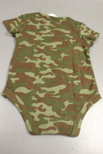 Load image into Gallery viewer, Military Style Major Cute Onesie, Woodland, 6-9 Months