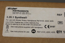 Load image into Gallery viewer, Stryker 4103-210 3.25:1 Synthes Reamer, New
