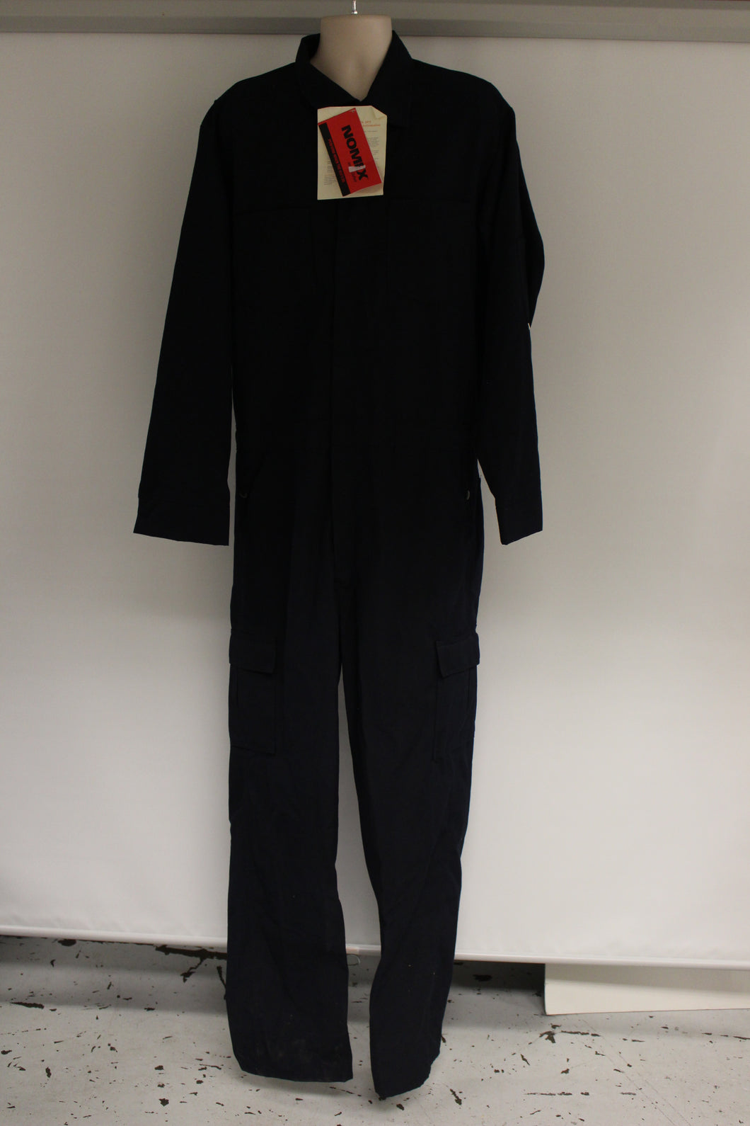 US Military Topps Nomex Coveralls, Size: 46 XT, Navy Blue, Arc Rating 5.7, NEW!