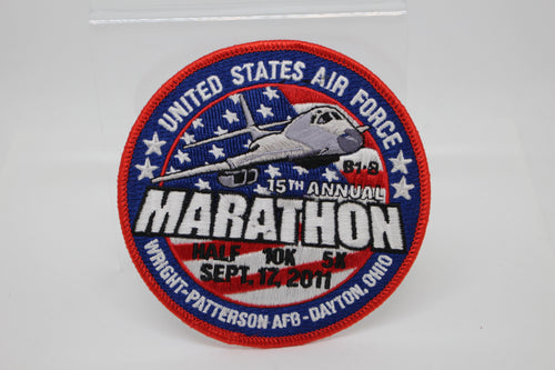 USAF 15th Annual Marathon Patch, Sept 17, 2011