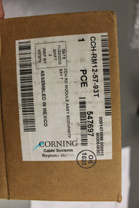 Corning CCH RD PNP Module Assembly, CCH-RM12-57-93T, New