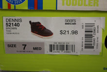 Load image into Gallery viewer, TKS Dennis 52140 Toddler Shoes, Brown, Size: 7 M, New!