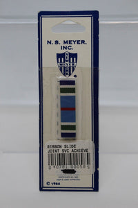 N.S. Meyer Ribbon Slide Joint Service Achievement Medal Ribbon, New