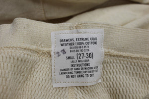 US Military Extreme Cold Weather Drawers Long Johns, 8415-00-782-3226, Small New
