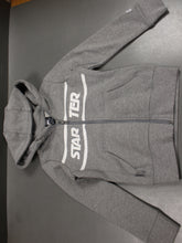Load image into Gallery viewer, Starter Boys Zip Up Jacket, Gray, Small, NWOT