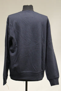 Sonoma Crew Neck Sweatshirt, Dark Blue, Size: Medium