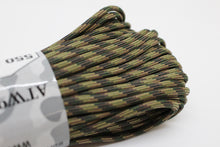 Load image into Gallery viewer, 550 Paracord 100 Ft, 7 Strand Core, Atwood Rope, Various Patterns