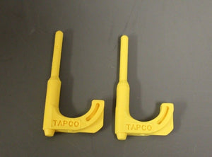 Tapco Rifle Chamber Safety Tool #9002 - Polymer Chamber Flag - YELLOW - 2 pack
