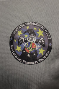 US Military Materiel Management Flight 48th Logistics Readiness Squadron T-Shirt, Small