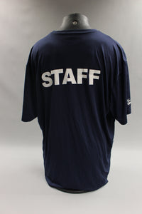 US Air Force Finish Staff Navy Blue T-Shirt - 2XL