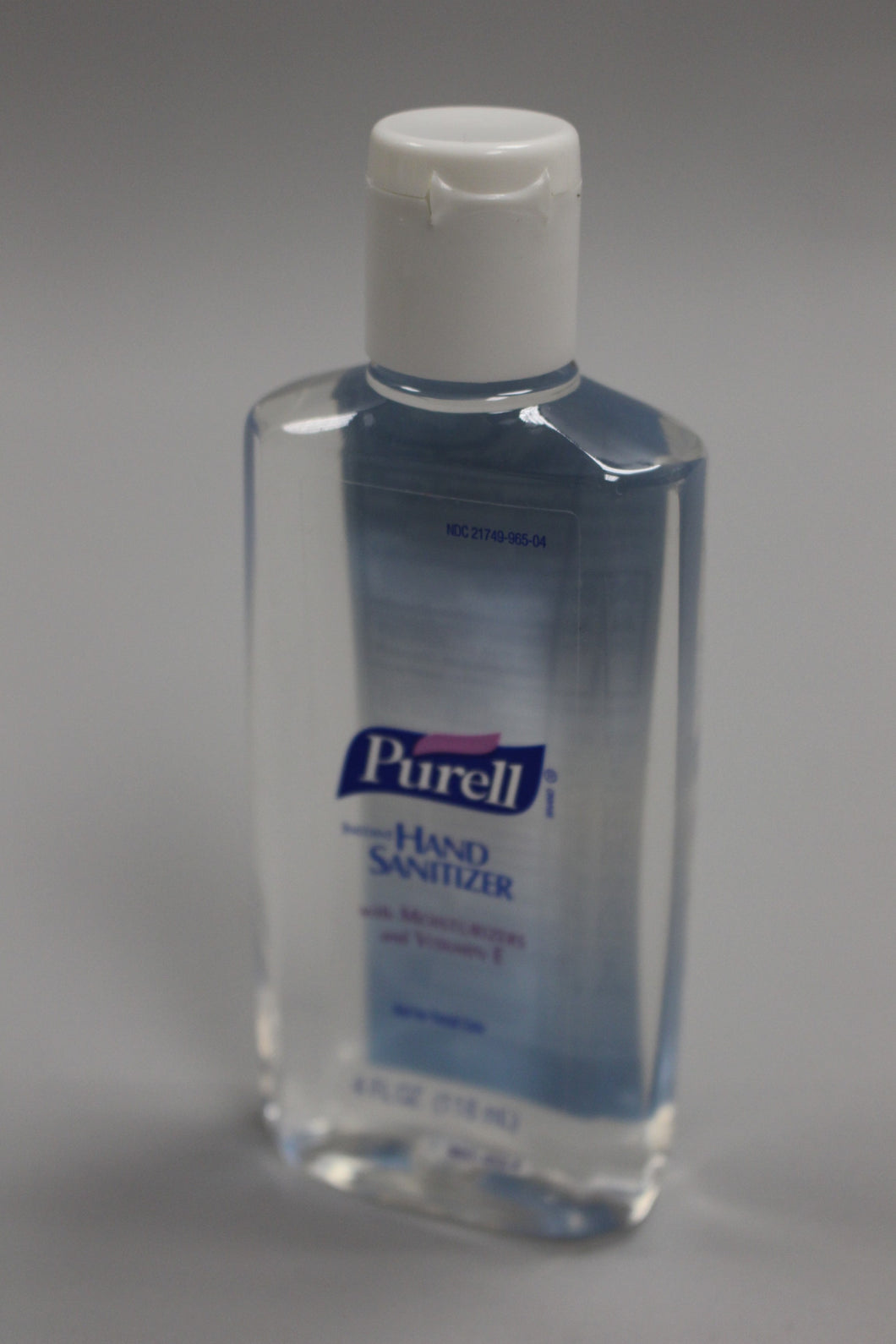 Purell Instant Hand Sanitizer - 4 Fl Oz - With Moisturizers & Vitamin E - New