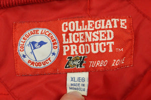 Vintage Ohio State Button Up Jacket, Collegiate Licensed Product, Turbo Zone, XL