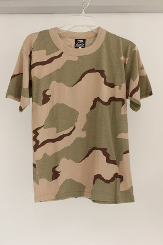 Rothco Childrens Camo T-Shirt, Size: X Large