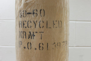 Kraft Paper 60 lb., 30 Inch Wide, 600 Ft, Natural, Recycled, Packing Paper