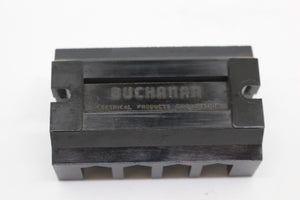 Buchanan Electrical Co. One Piece Terminal Block, B104