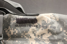 Load image into Gallery viewer, Bulldog M240B / M249 Saw Spare Barrel Bag, ACU, Grade B