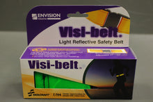 Load image into Gallery viewer, Visi-Belt High Visibility Light Reflective Safety Belt - Flourescent Green, New