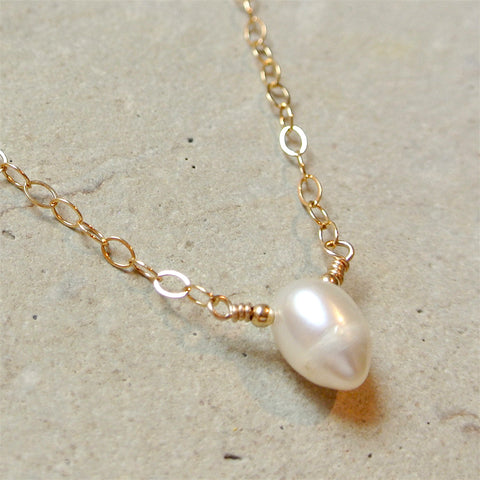 The Essential Gemstone Necklace: Pearl