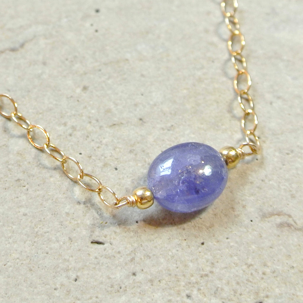 Essential Energy Gemstone Necklace: Tanzanite - Spirituality
