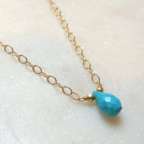 The Essential Gemstone Necklace: Turquoise