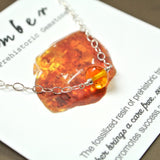 The Essential Gemstone Necklace: Amber