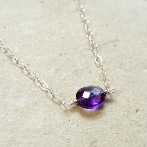 The Essential Gemstone Necklace: Amethyst