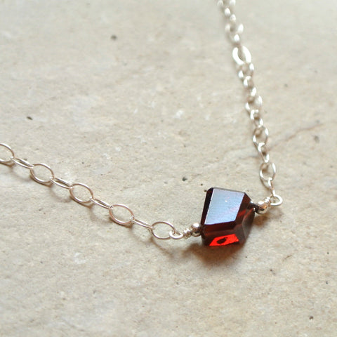 The Essential Gemstone Necklace: Garnet