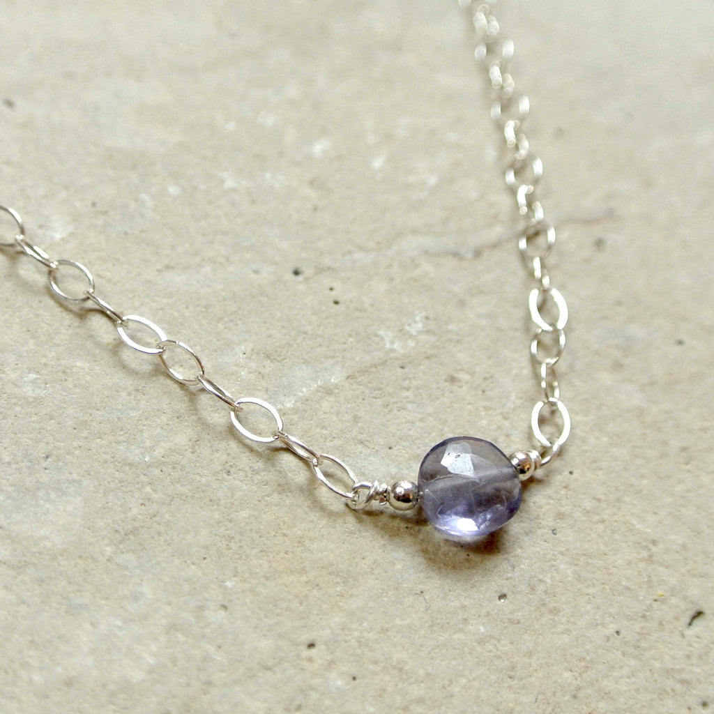 The Essential Gemstone Necklace: Iolite