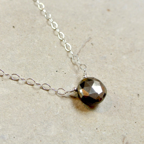 The Essential Gemstone Necklace: Pyrite