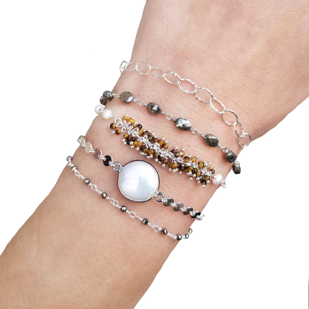Wrap Bracelet - Neutral - Silver