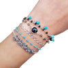 Wrap Bracelet - Shades of Blue
