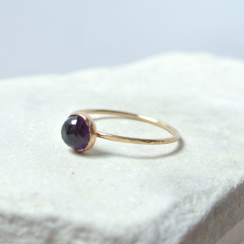 Amethyst Essential Energy Ring - Protective