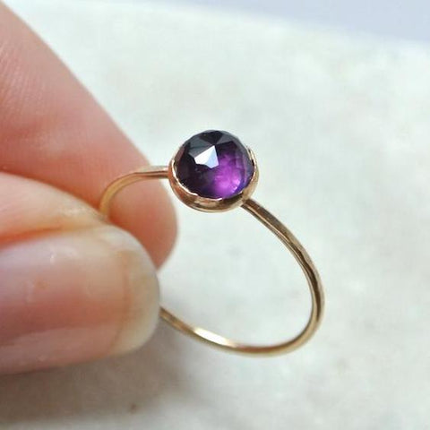 Amethyst Essential Gemstone Ring