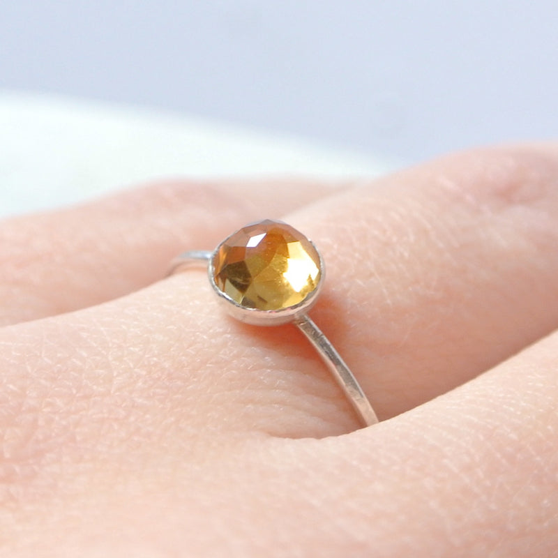 Citrine Essential Energy Ring - Regenerating